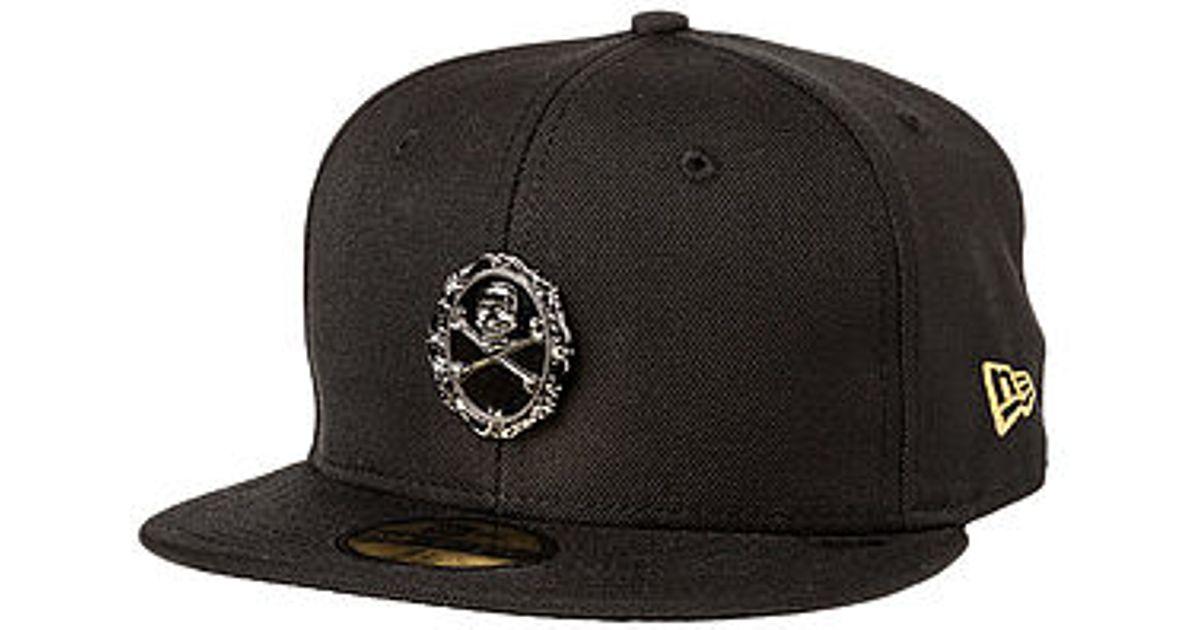 Lyst - Black Scale The Afterlife New Era Hat in Black for Men 32746bda6f6