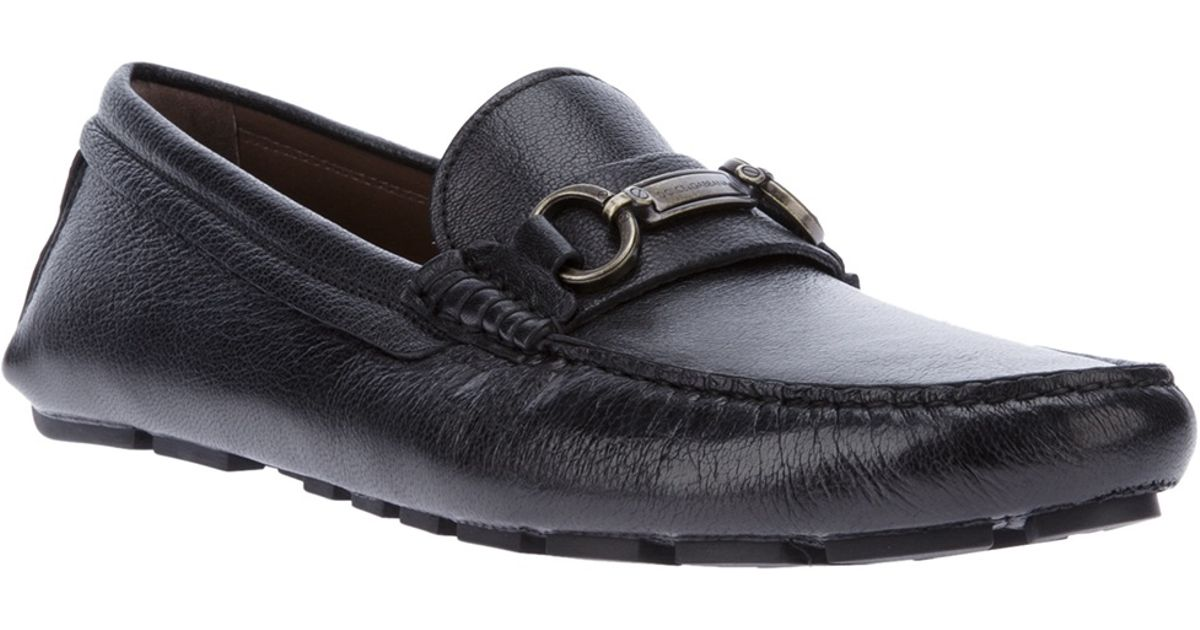 80ae162f073 Dolce   Gabbana Buckle Loafer in Black for Men - Lyst