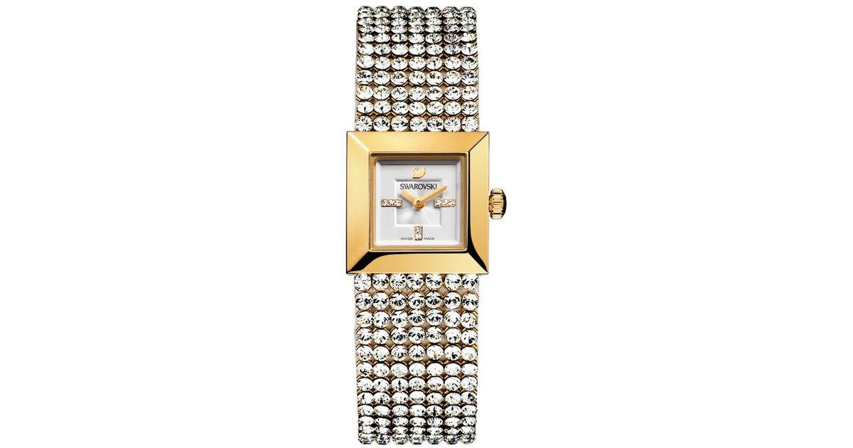 deebef7422fa Lyst - Swarovski Elis Watch in White