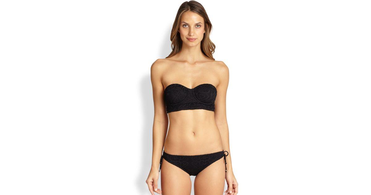 Ralph Lauren Women Strap Ricky Bikini Blue Bikini