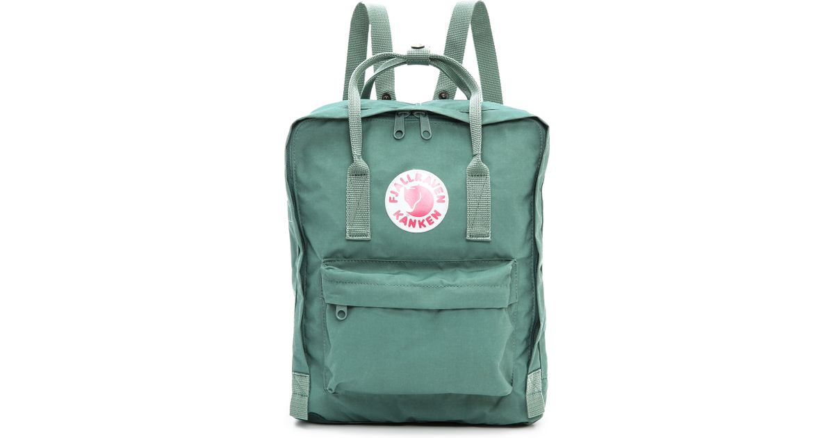 Fjallraven Kanken Backpack In Green Frost Green Lyst