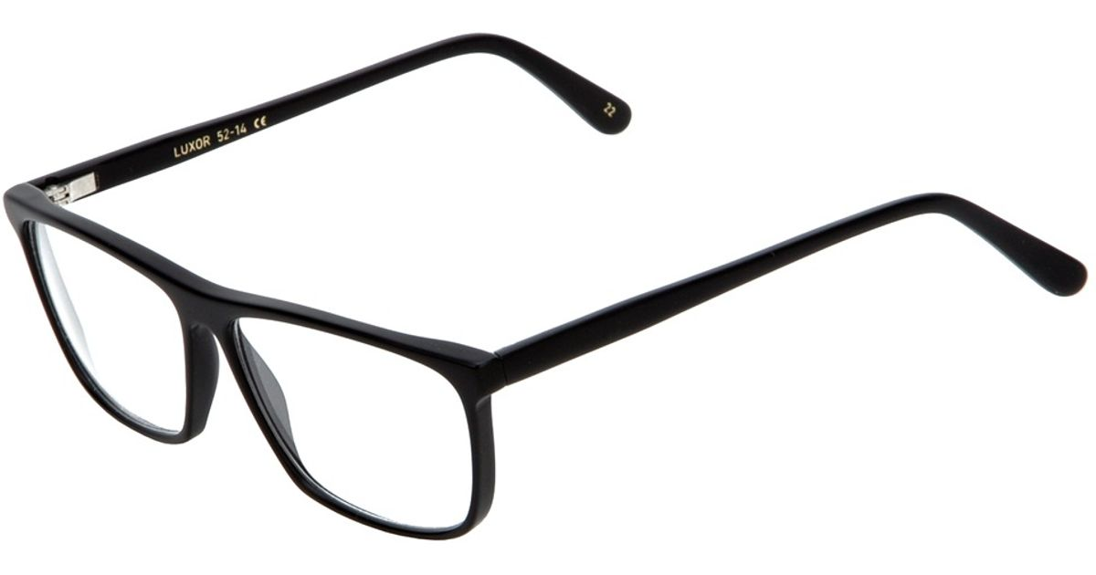 5535013edd7c Lyst - Lgr Luxor Glasses in Black for Men