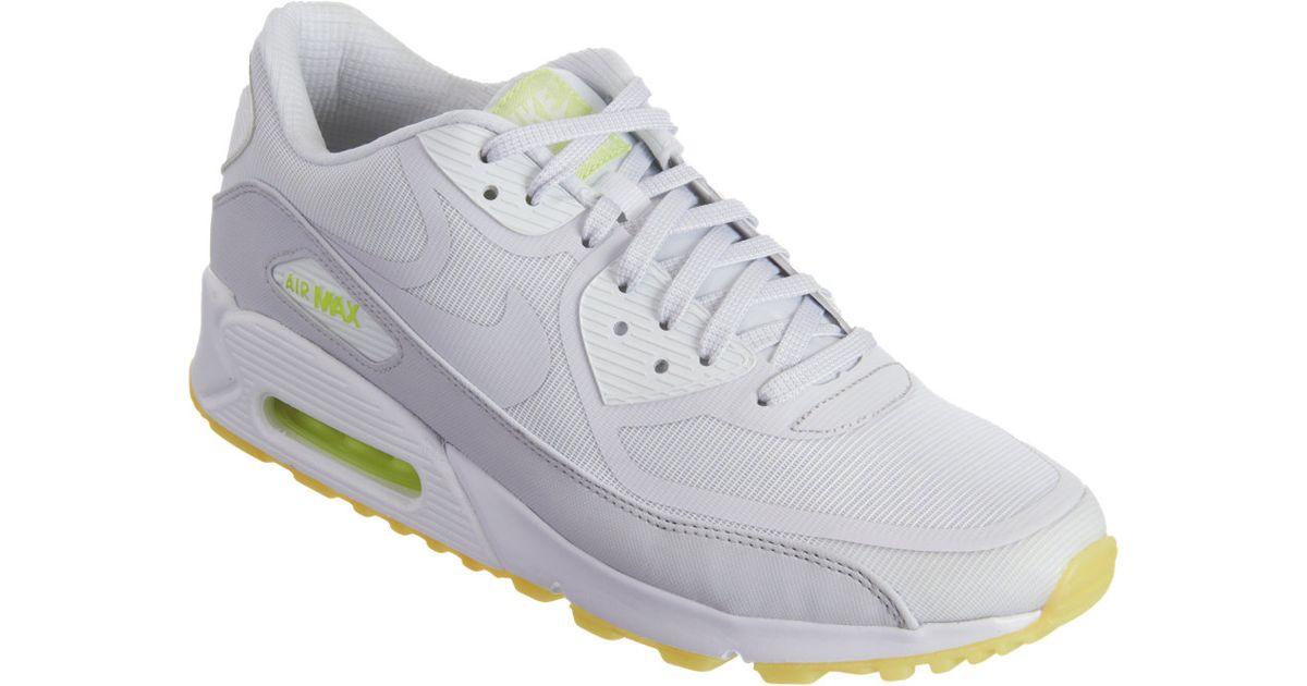 Nike White Air Max 90 Cmft Prm Tape for Men Lyst