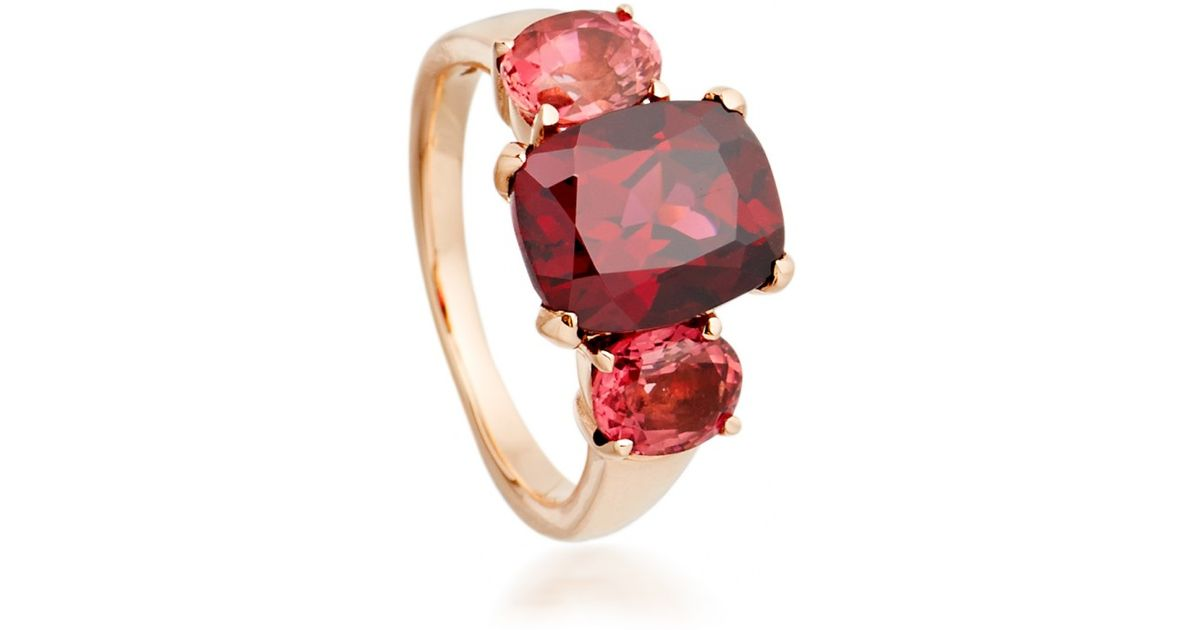 in rhodolite rings amethyst yellow and f item gold full natural cut ring asscher garnet