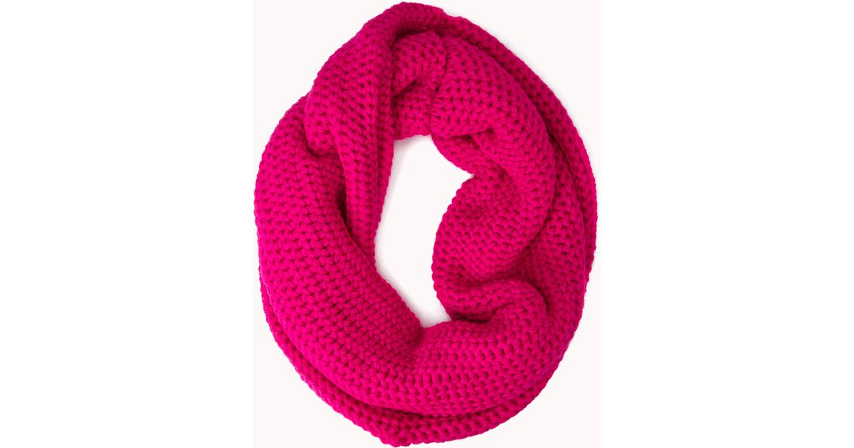 Forever 21 Cold Days Infinity Scarf in Pink Lyst