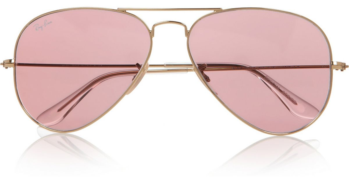 ray ban rose gold mirrored aviators gs3z  ray ban rose gold mirrored aviators