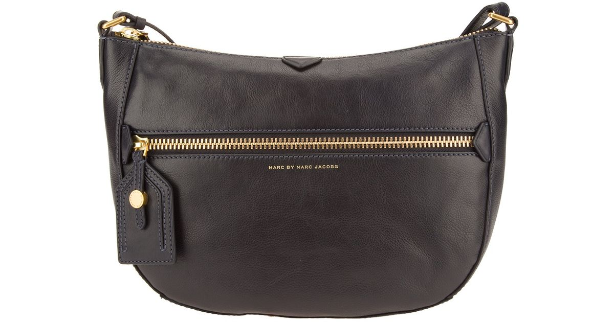 a42eb14eae89 Lyst - Marc By Marc Jacobs Globetrotter Messenger Bag in Black