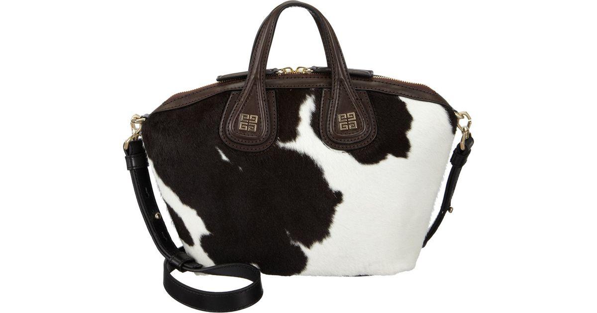 8f94752ef7 Givenchy Nightingale Micro Crossbody Bag in Black - Lyst