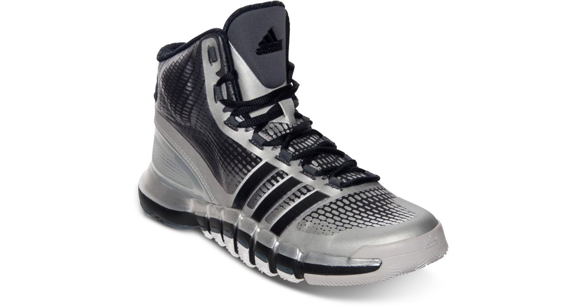 factory authentic 7af21 d00ac Lyst - Adidas Crazy Quick Basketball Sneakers From Finish Line in Gray for  Men