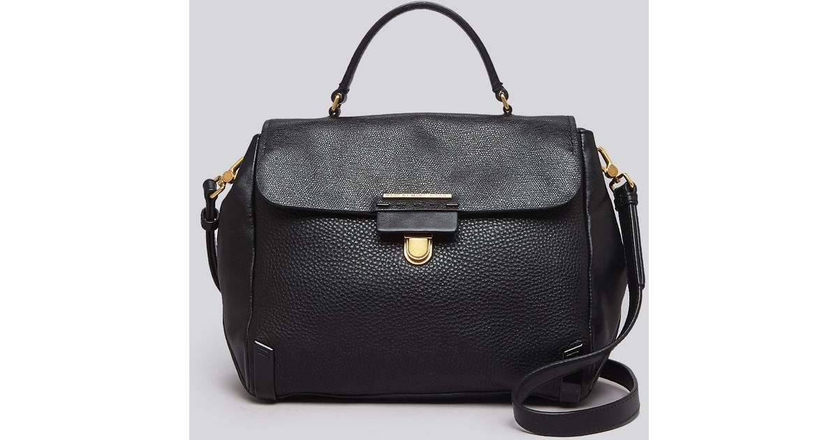 ba70199318d9 Lyst - Marc By Marc Jacobs Satchel - Sheltered Island Top Handle in Black