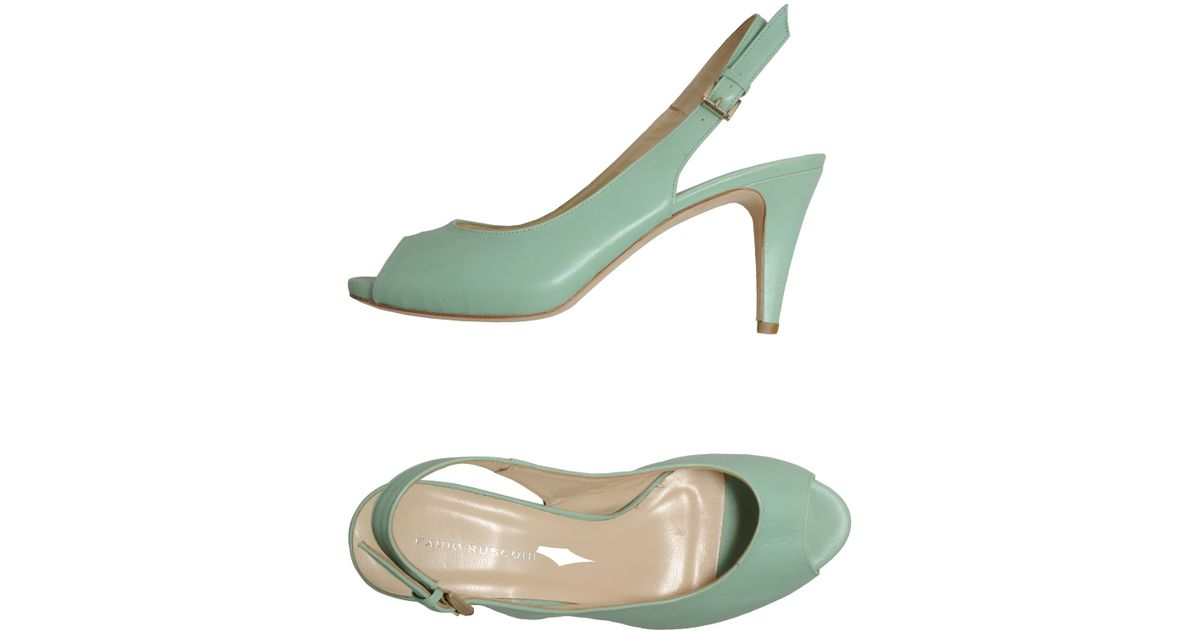 Fabio rusconi light green highheeled sandals product 1 15687862 547670966