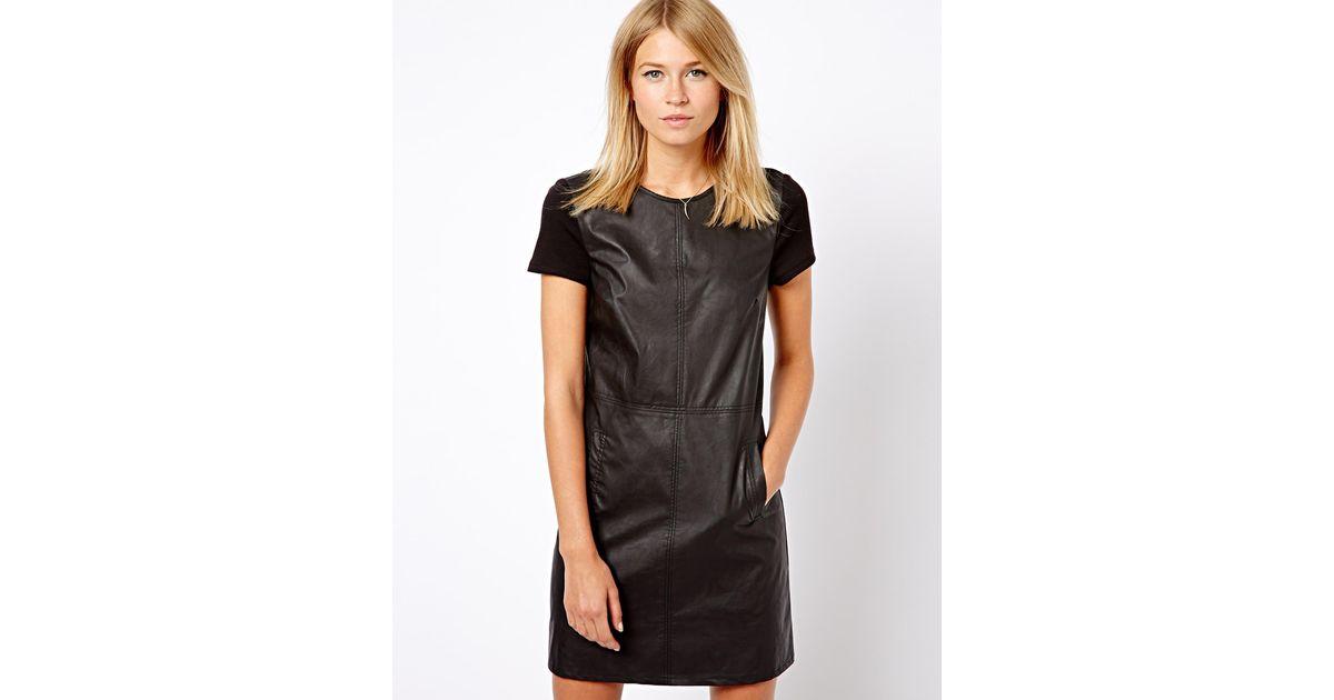 743db6dd60d5 Black Leather Dress Oasis – Little Black Dress | Black Lace ...