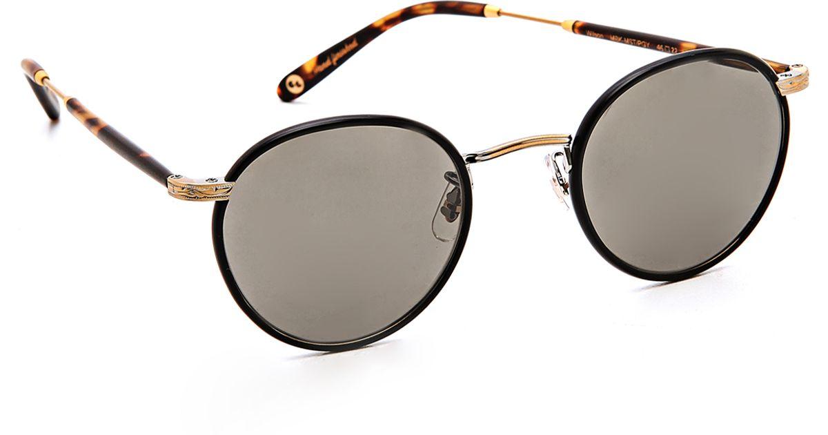 8213b96c8f6 Garrett Leight Wilson Sunglasses in Gray for Men - Lyst
