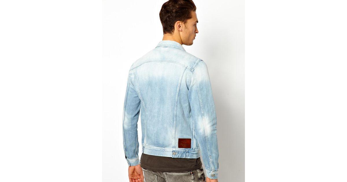 8942441e27 Pepe Jeans Pepe Denim Jacket Legend Slim Fit Light Wash in Black for Men -  Lyst