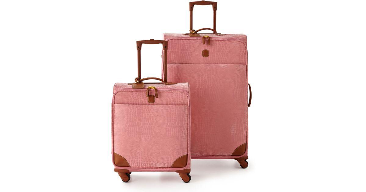 Bric's Mysafari Pink Luggage in Pink | Lyst