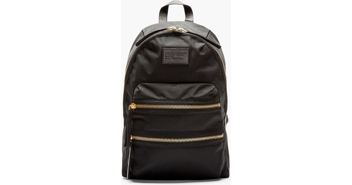 0a31a90a2c Lyst - Marc By Marc Jacobs Domo Biker Dégradé Studs Backpack - Black in  Black