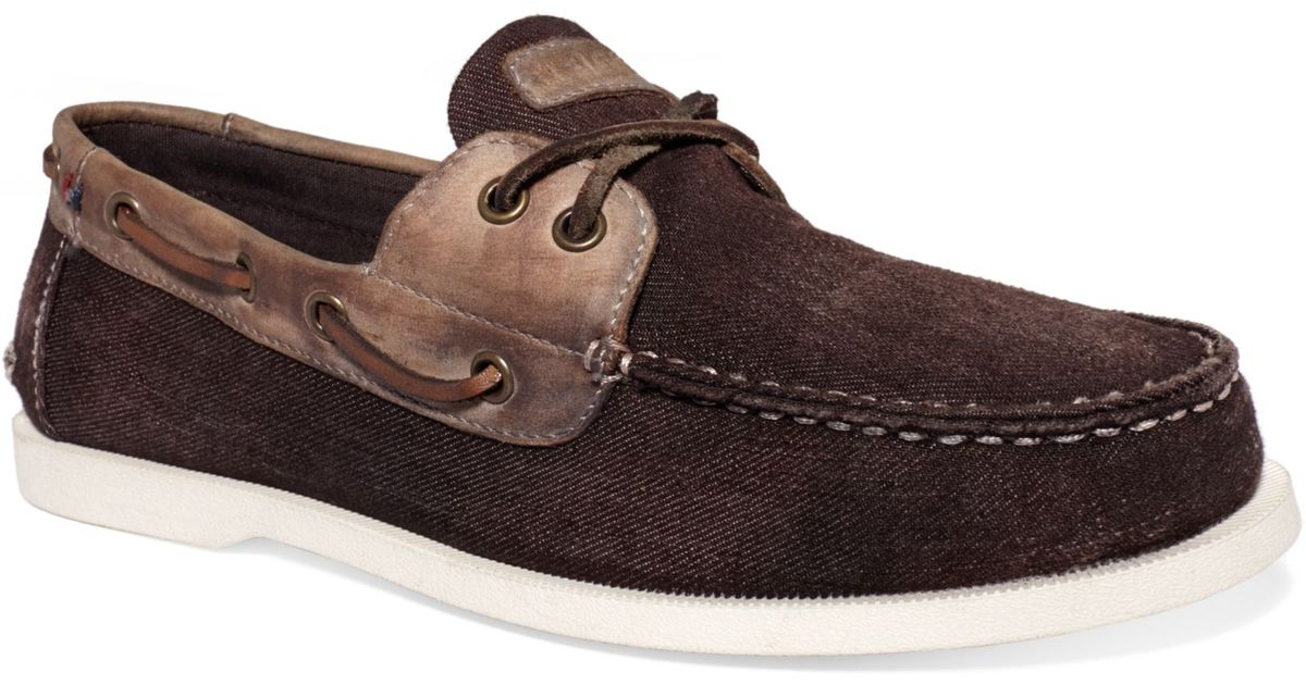 4c5ad0d8b3763 Lyst - Tommy Hilfiger Bowman2 Boat Shoes in Brown for Men