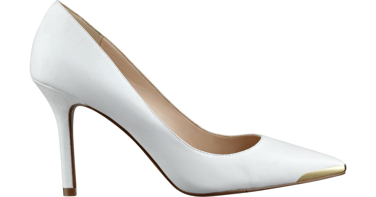 f361f717f2d Lyst - Nine West Mastic Pointed Toe Pumps in White