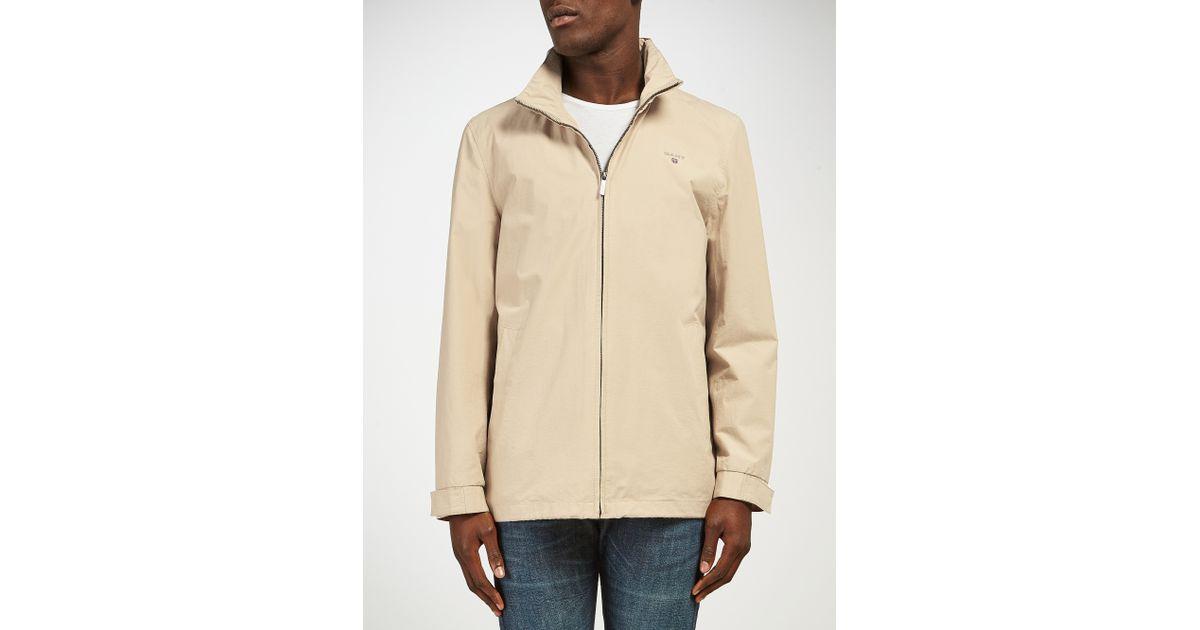 5f7292b6c17 GANT New Haven Jacket in Natural for Men - Lyst
