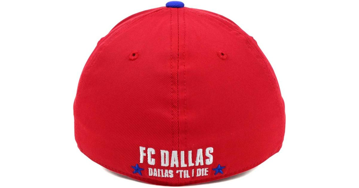 e40e8865e70 ... canada hat your price 82542 wholesale lyst adidas fc dallas jersey hook  up cap in red