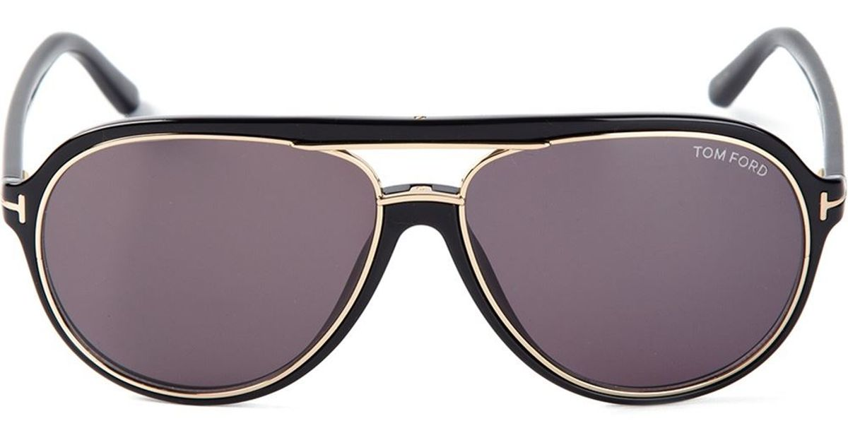 122494f95fcb Tom Ford 'Sergio' Sunglasses in Black for Men - Lyst
