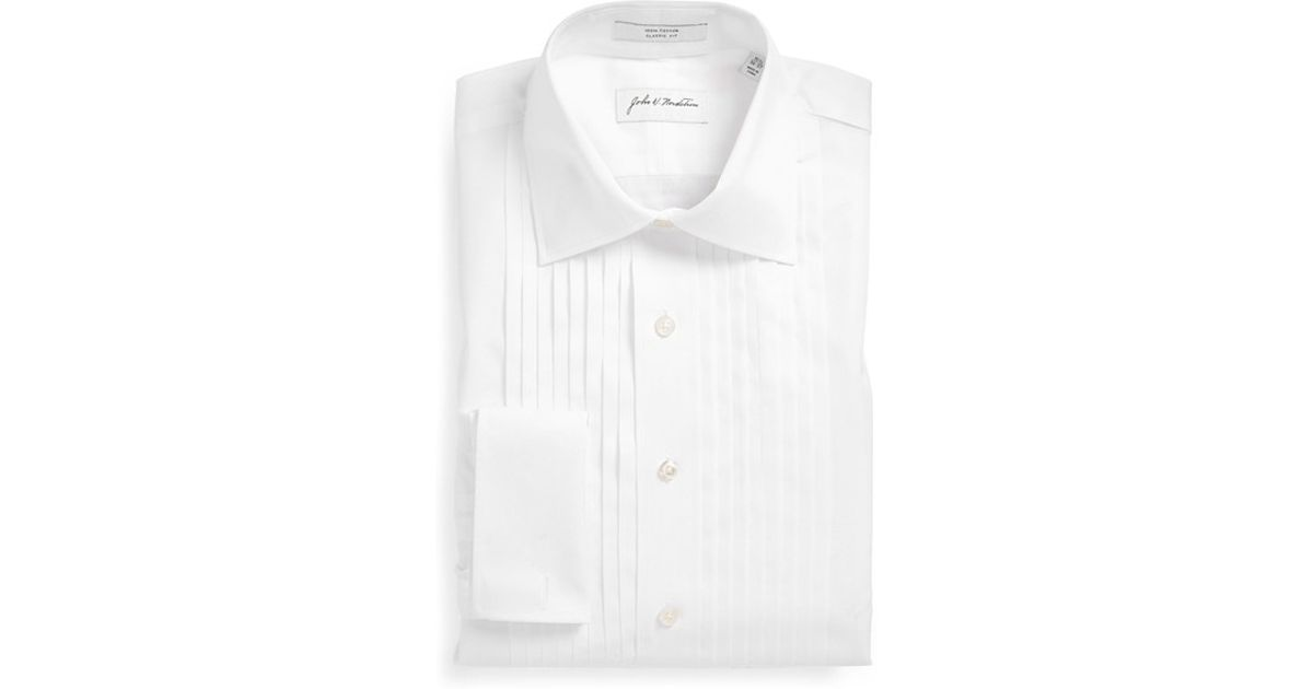 John w nordstrom john w nordstrom classic fit french for Big and tall french cuff dress shirts