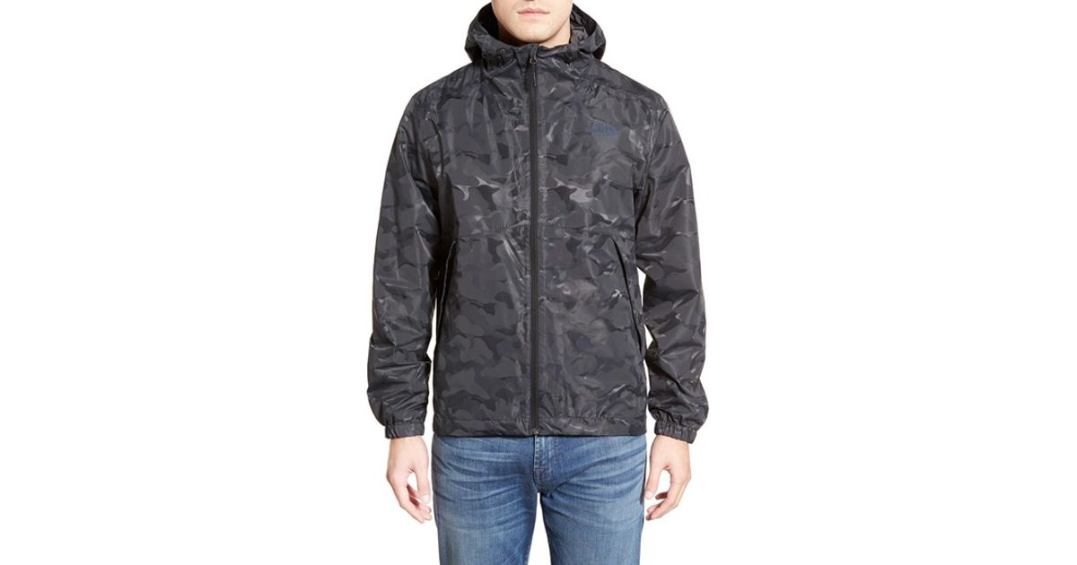 b06d82306a762 ... shop lyst the north face millerton dryvent waterproof hooded jacket in  black for men ba3f2 cba09