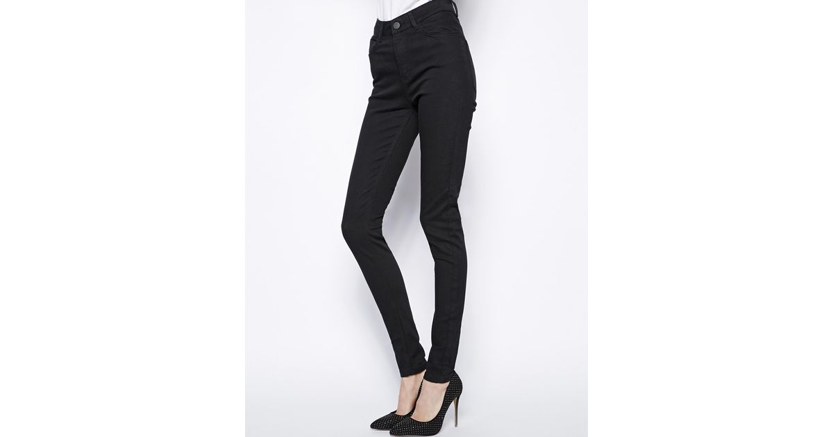 Just female high waist skinny jeans
