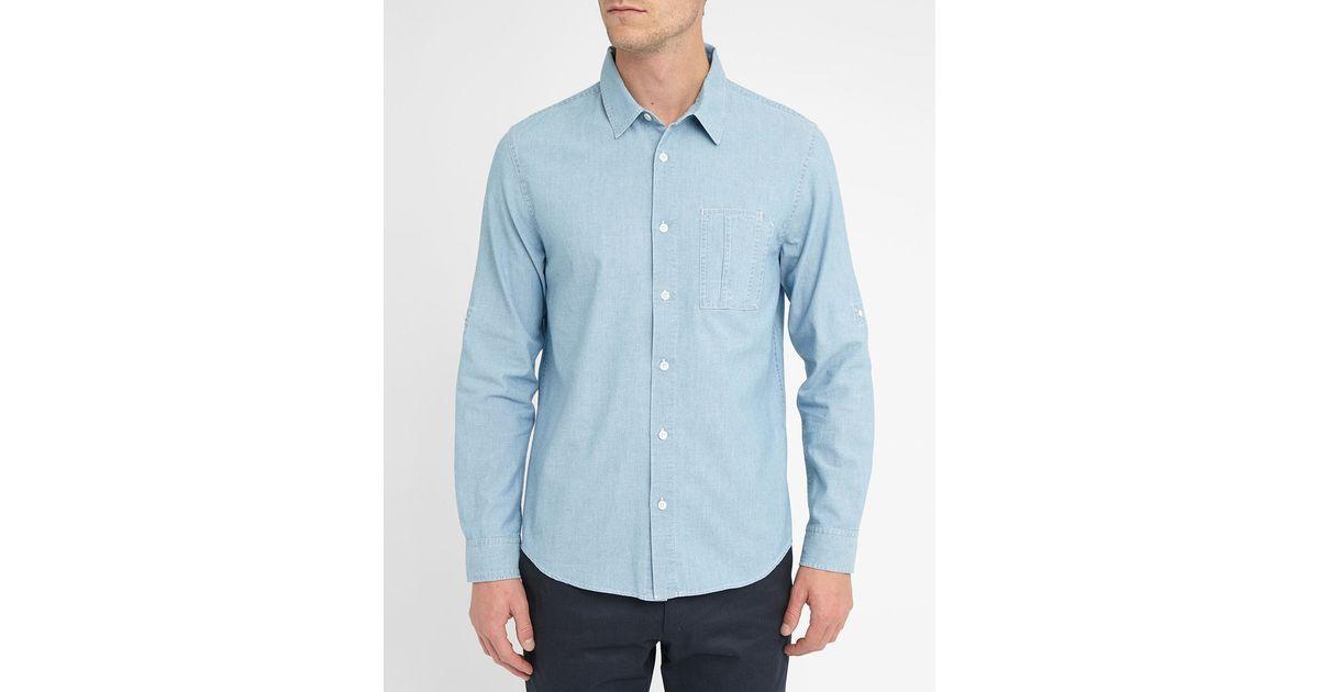 denim shirt pockets - photo #31