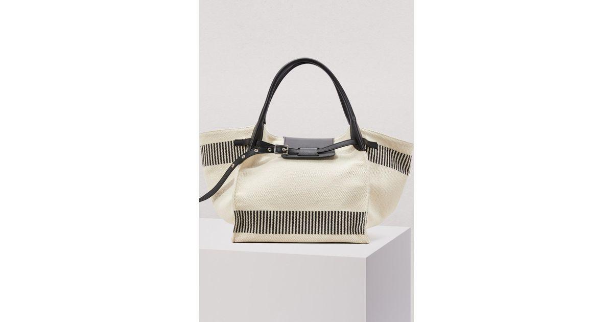 bda1ff08e1 Céline Medium Big Bag In Textured Canvas - Lyst