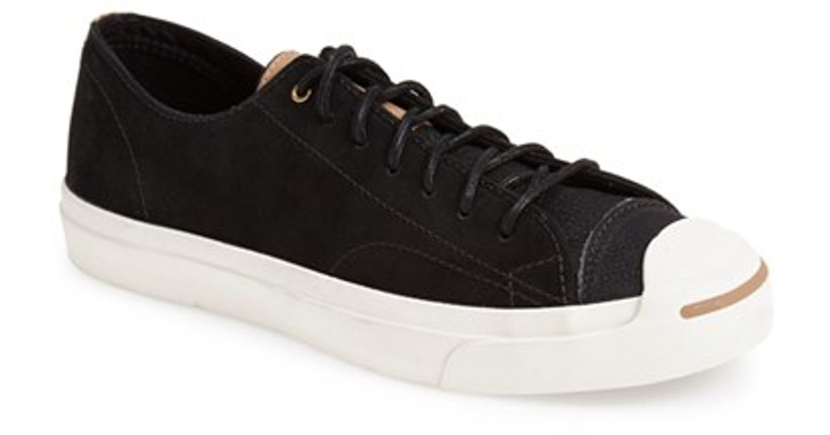 59f1a626211b Lyst - Converse  jack Purcell - Jack Split Tongue  Sneaker in Black for Men