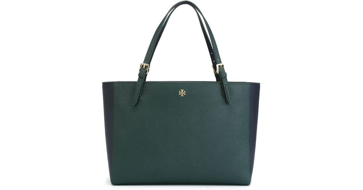 7fc90229ca8 Lyst - Tory Burch  perry  Tote Bag in Green