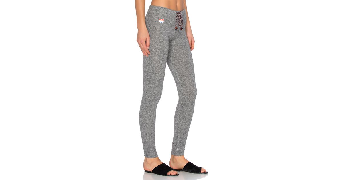 d1a36dcbf606 Lyst - Sundry Stars & Hearts Skinny Sweatpant in Gray