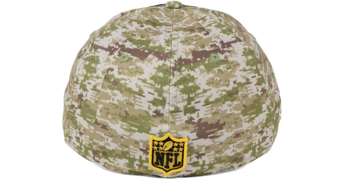 ... best price lyst ktz new orleans saints salute to service 39thirty cap  in black for men 38582ed4c