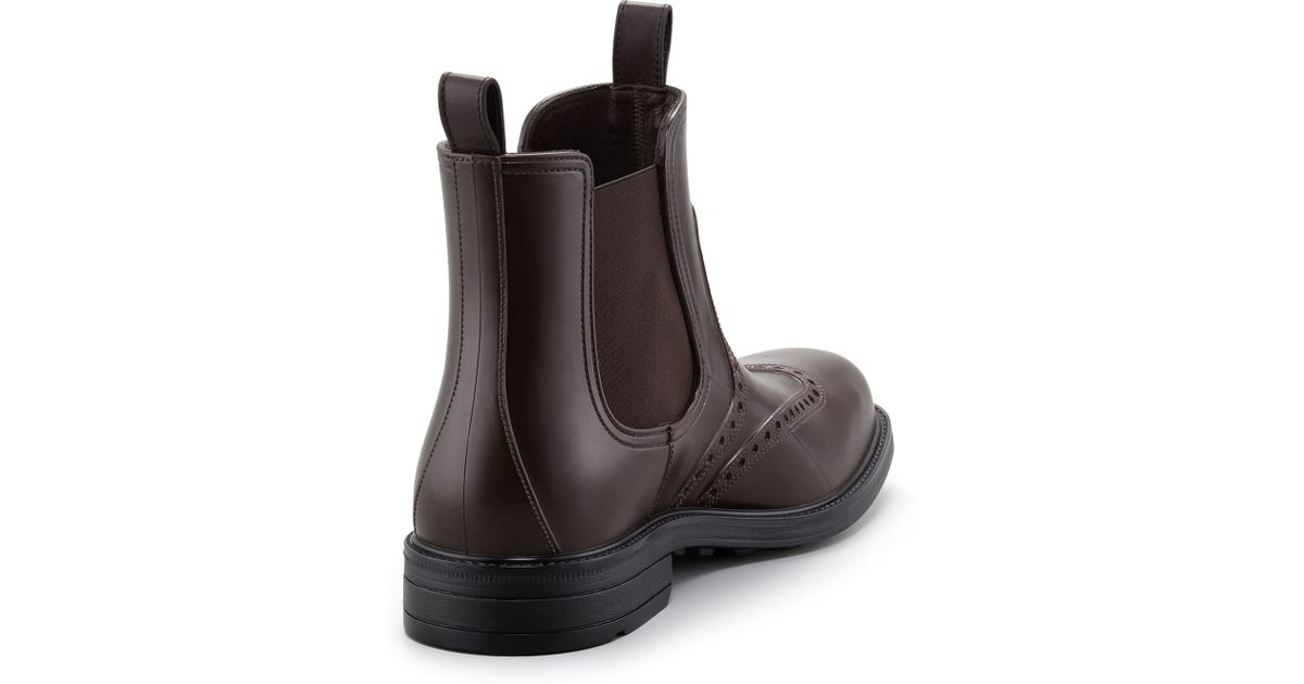 Timberland Pro Caprock Alloy Toe Waterproof Wellington- Brown boots