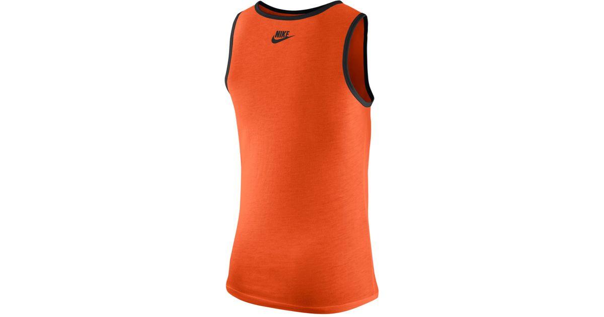 Top Nike Men's Cincinnati Bengals Team Tank Top in Orange for Men Lyst  hot sale