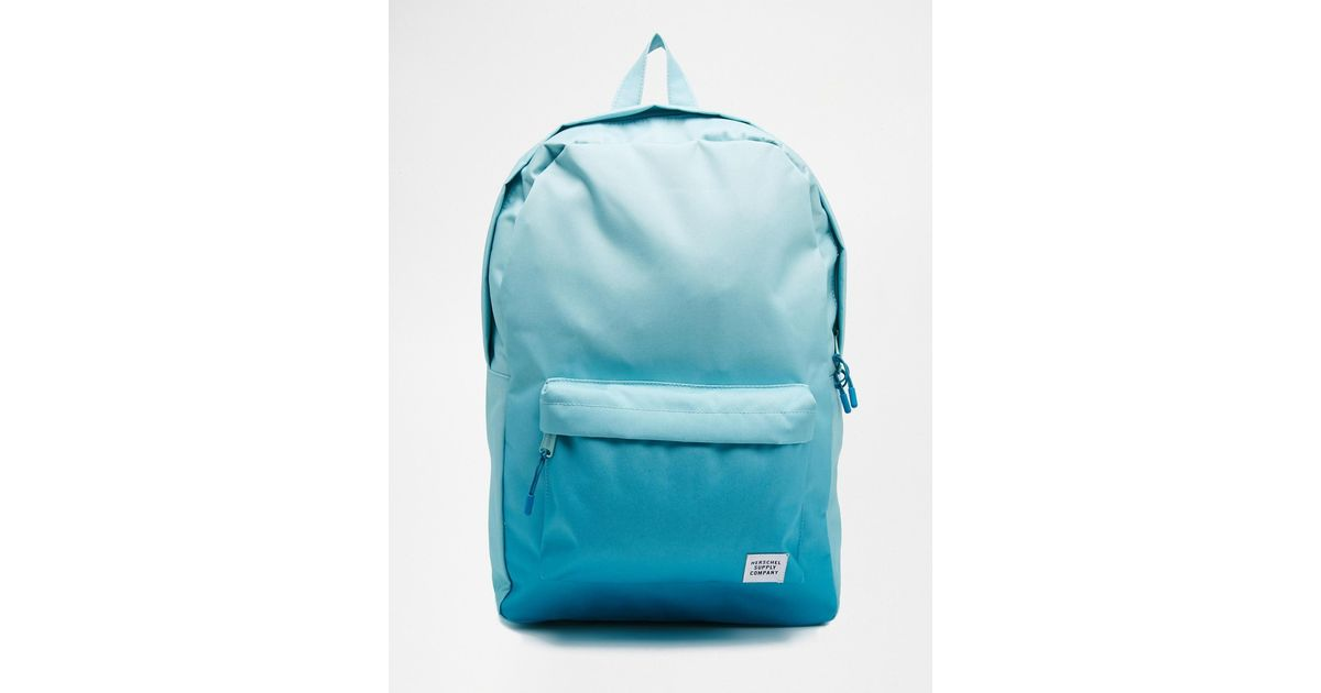 cdc874566208 Lyst - Herschel Supply Co. Backpack In Blue Ombre in Blue