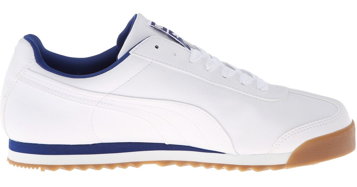 a8c0968093911b Lyst - PUMA Roma Basic in White for Men