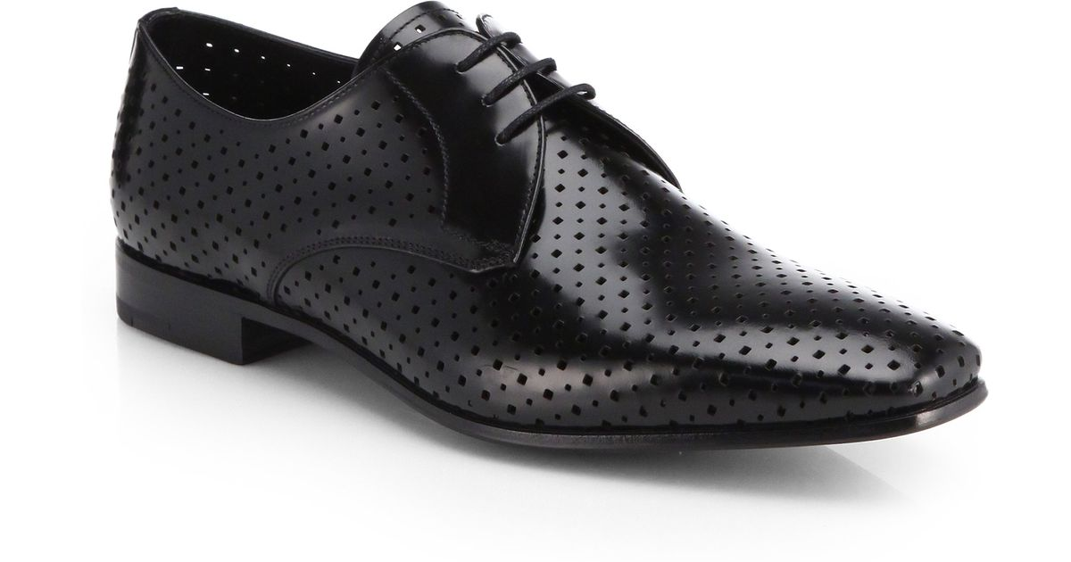 perforated Oxford shoes - Brown Prada 100% Guaranteed Sale Online Pay With Paypal Wide Range Of Online 4bYvS7