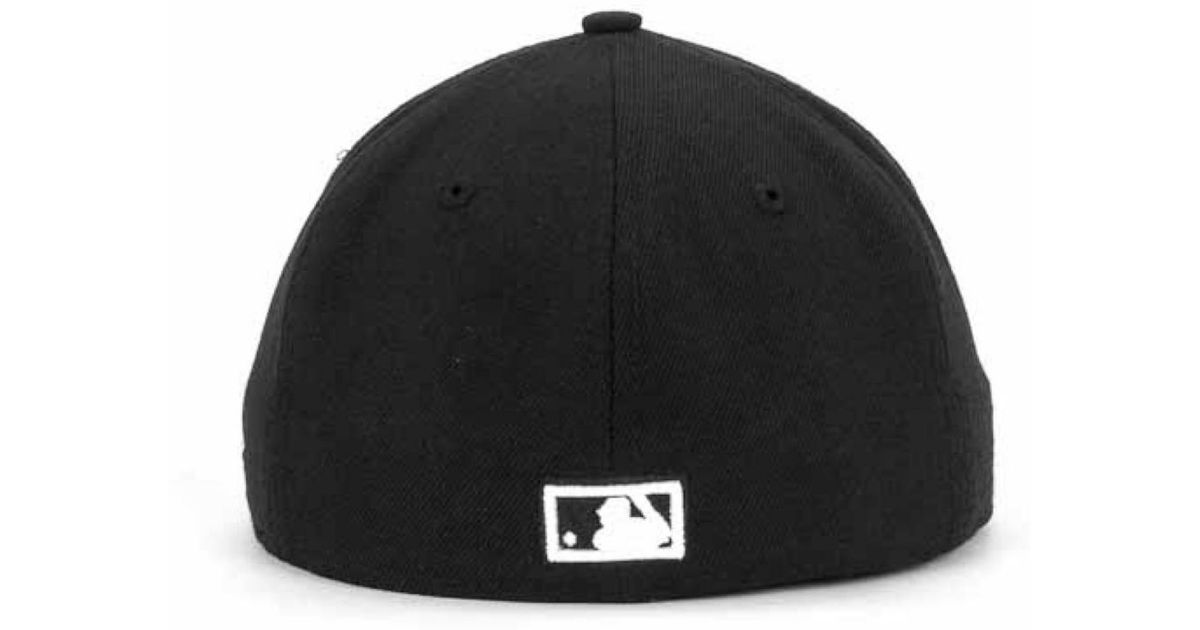 ... promo code for lyst ktz philadelphia phillies black and white fashion 59fifty  cap in black for 9d9e708521cc