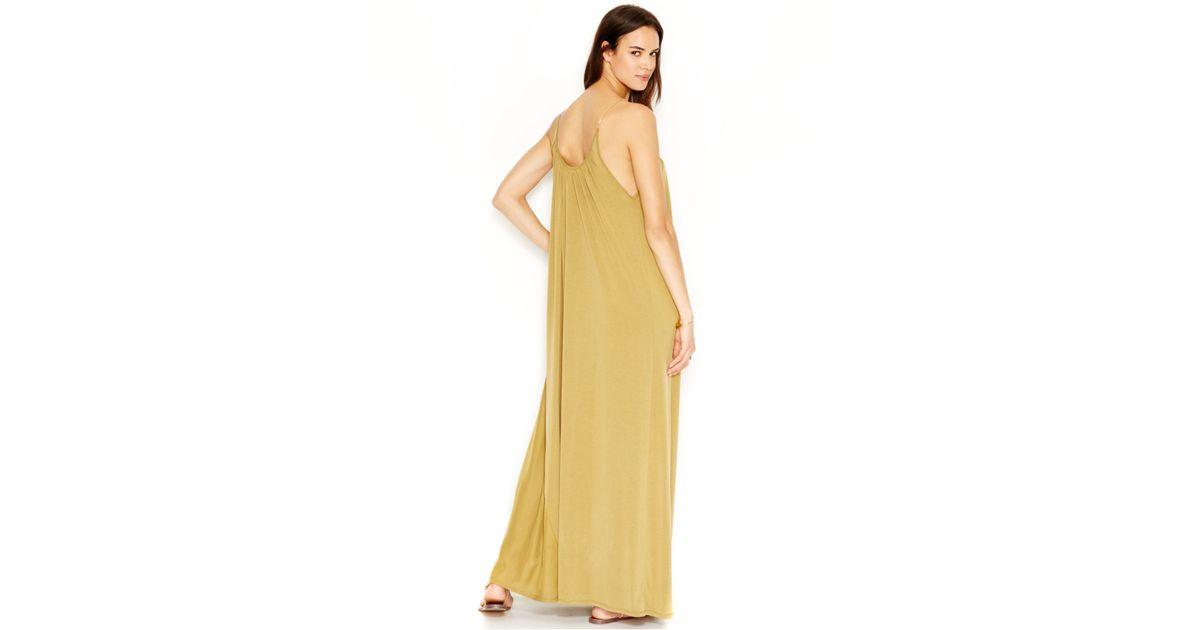 Lyst - Rachel Rachel Roy Chain-link Colorblock Maxi Dress in Green