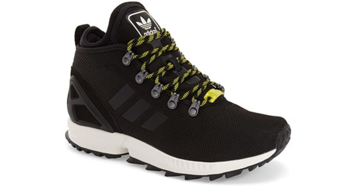 release date: b9d95 0ae3b ... men 14aef 18661 australia lyst adidas originals zx flux winter sneaker  in black e77d3 e51bb ...