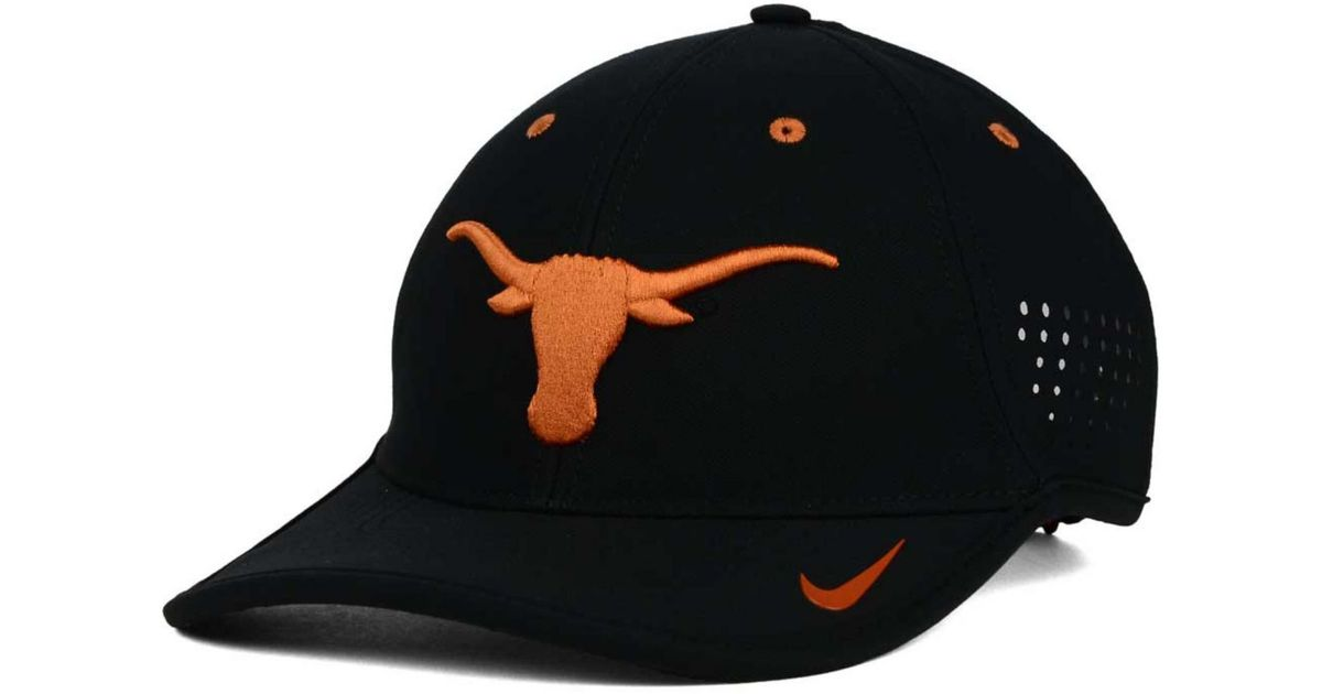 24b64ac702f ... uk lyst nike texas longhorns dri fit coaches cap in black for men 46901  f0e75