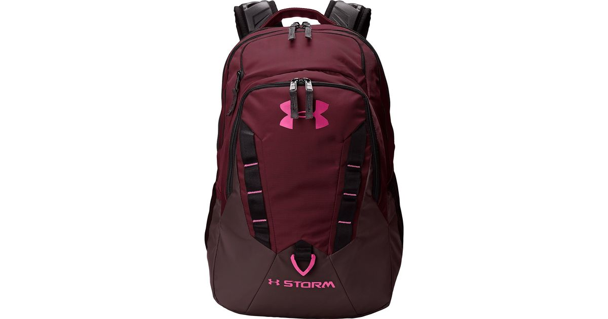 Lyst - Under Armour Ua Recruit Backpack in Brown bf7af2d294ae6