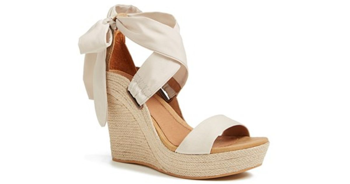 ugg jules wedge pearl