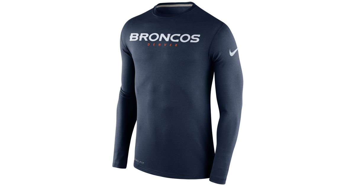 20758a87 Navy Blue Long Sleeve Dri Fit Shirt - Best Picture Of Blue Imageve.Org
