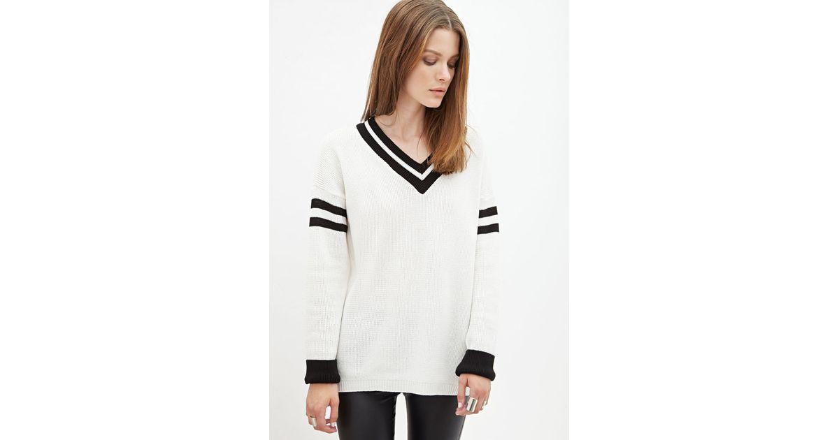 Varsity Stripe Sweater Forever 21 36