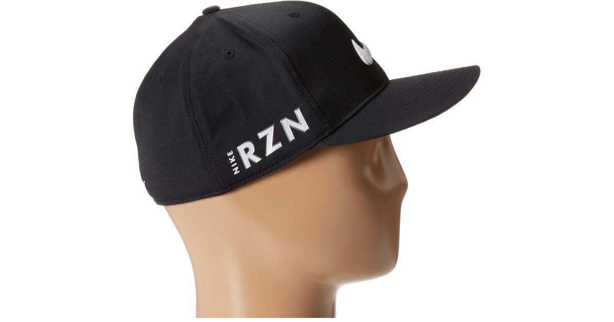 Lyst - Nike Flat Bill Tour Cap in Black for Men 12828215ae2