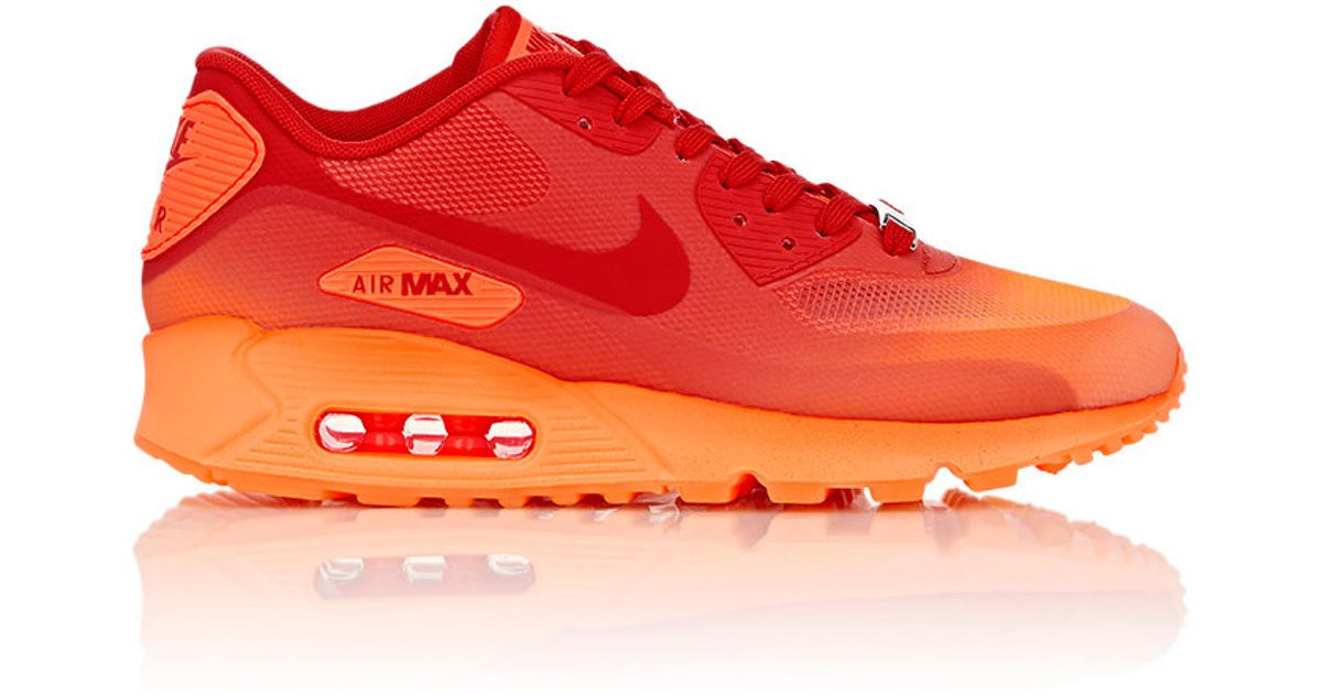 6cb72229d875 Nike Air Max 90 Hyperfuse Qs Milan Sneakers in Red - Lyst