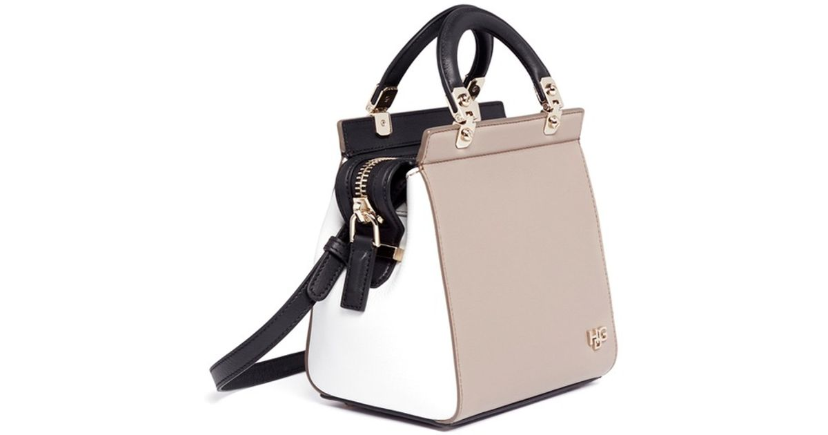 f806d1f5b137 Lyst - Givenchy Hdg Sandy Mini Leather Bag in Gray